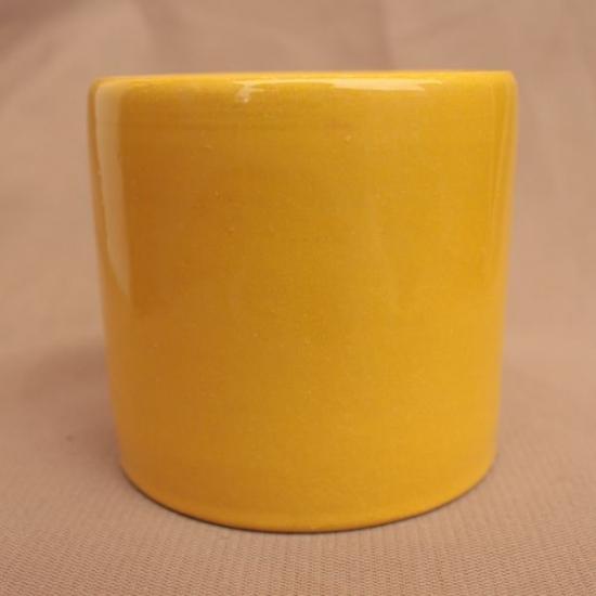 Ангоб желтый №3 с бесцветной глазурью