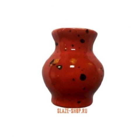 Глазурь веснушки красная