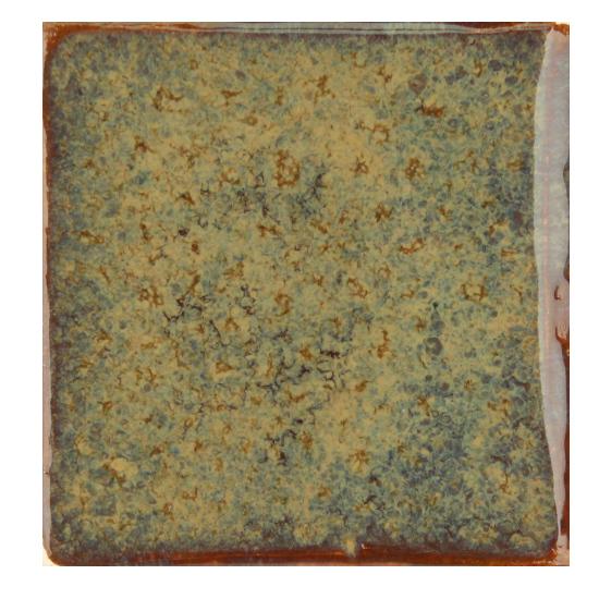 Глазурь для керамики коричневая эффектарная