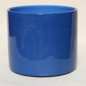 Ангоб синий с прозрачной глазурью
