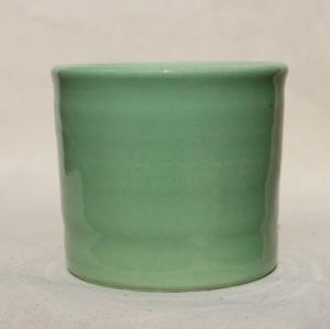 Ангоб зеленый, глазурь