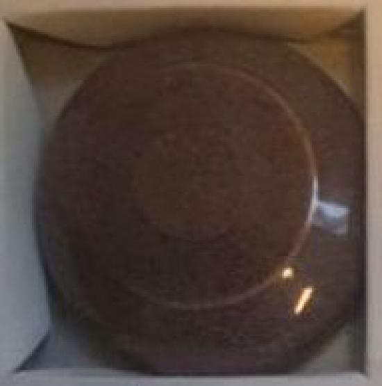 Керамическая глазурь цвета кофе