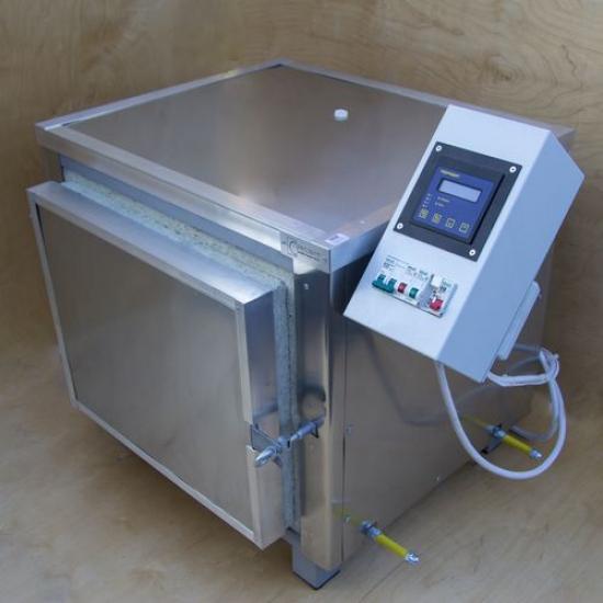 Электрическая муфельная печь для обжига керамики 76-80 л