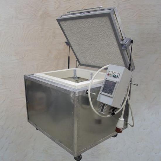 Муфельная печь с вертикальной загрузкой 100 литров