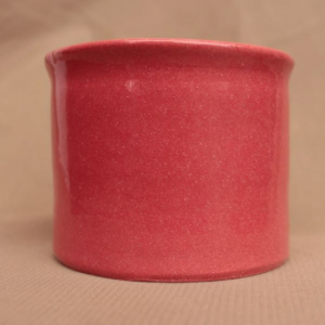Ангоб красный №1 с бесцветной глазурью