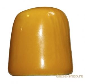 Глазурь желтая, т.о. 1200 град., масса МКФ-1