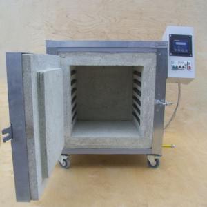Электрическая муфельная печь для обжига керамики 55-64 л