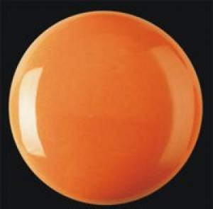 Пигмент красно-оранжевый с бесцветной глазурью
