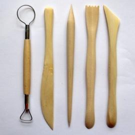 Набор деревянных стеков
